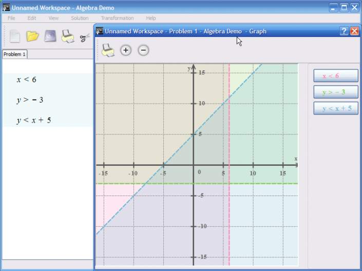 Graphing Equations and Inequalities - Graphing linear equations ...